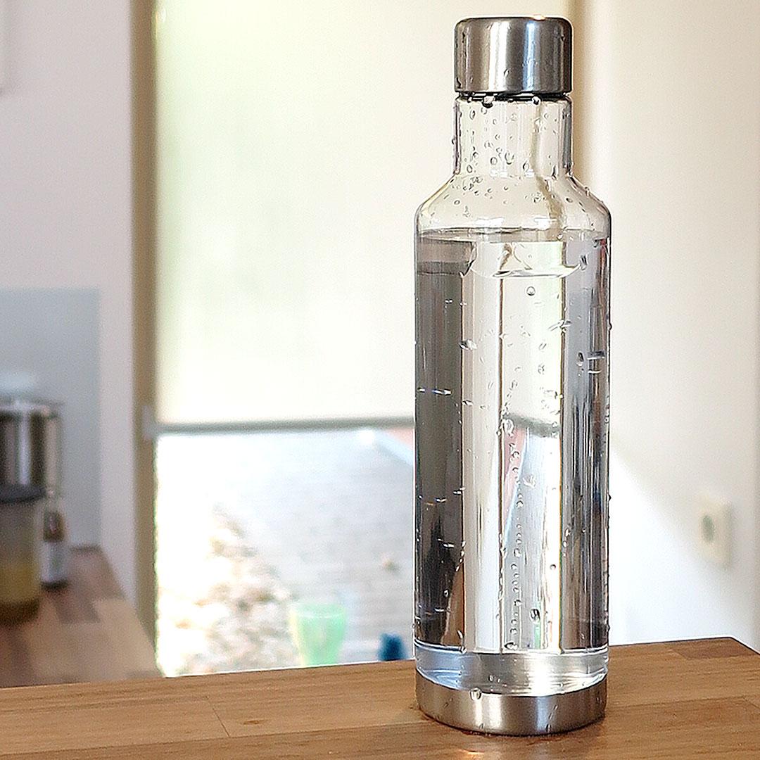 Wasserflasche Kunststoff