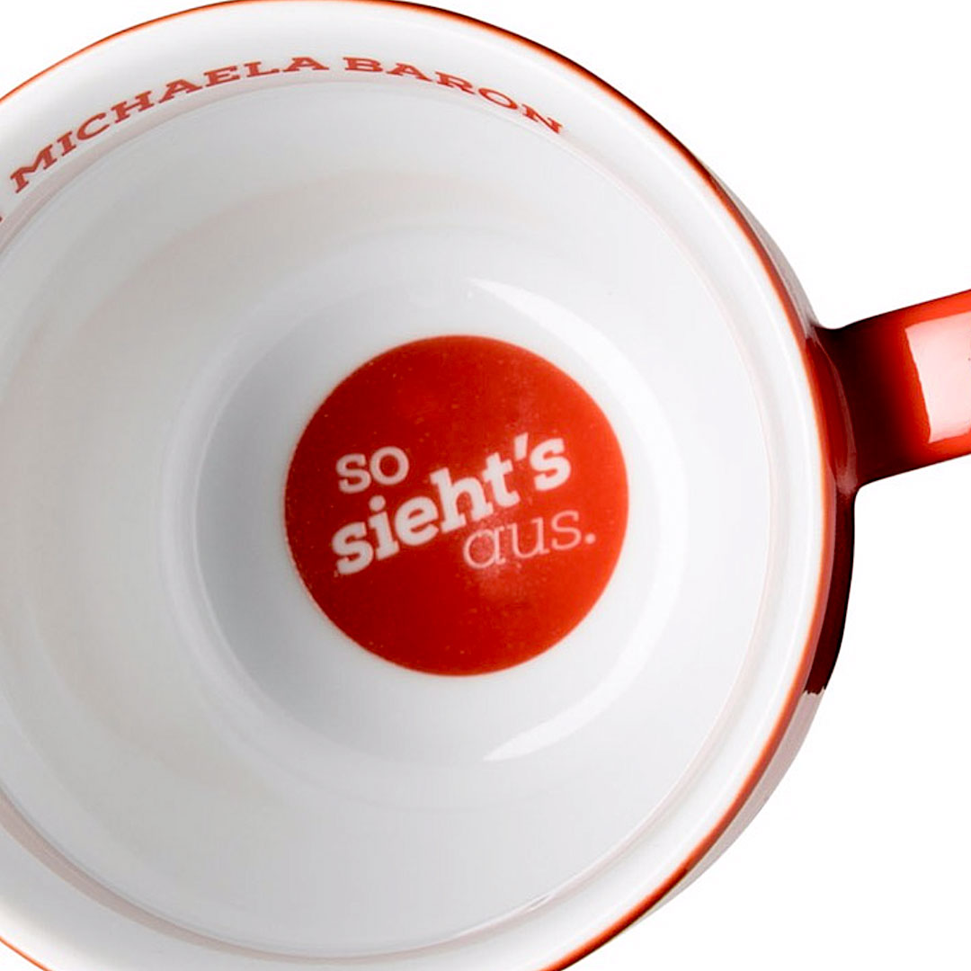 Logo innen in Tasse drucken