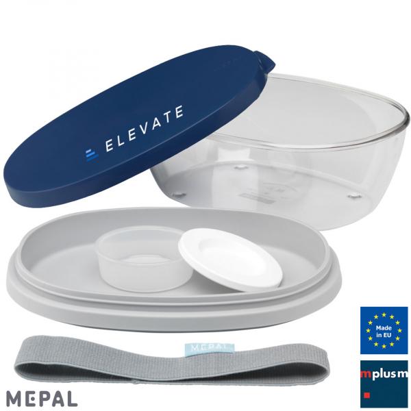 Mehrteilige Mepal 'Salatbox Ellipse' 1,9 l