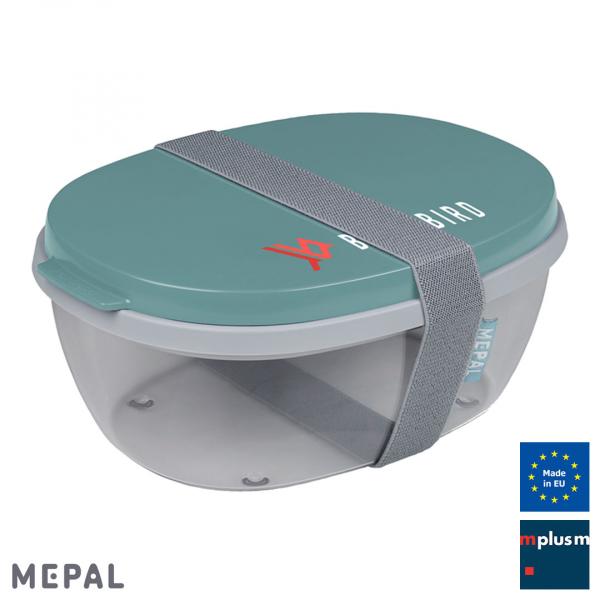 Schöne Mehrweg Salatbox To Go von Mepal Made in Europe mit eigener Werbung bedrucken