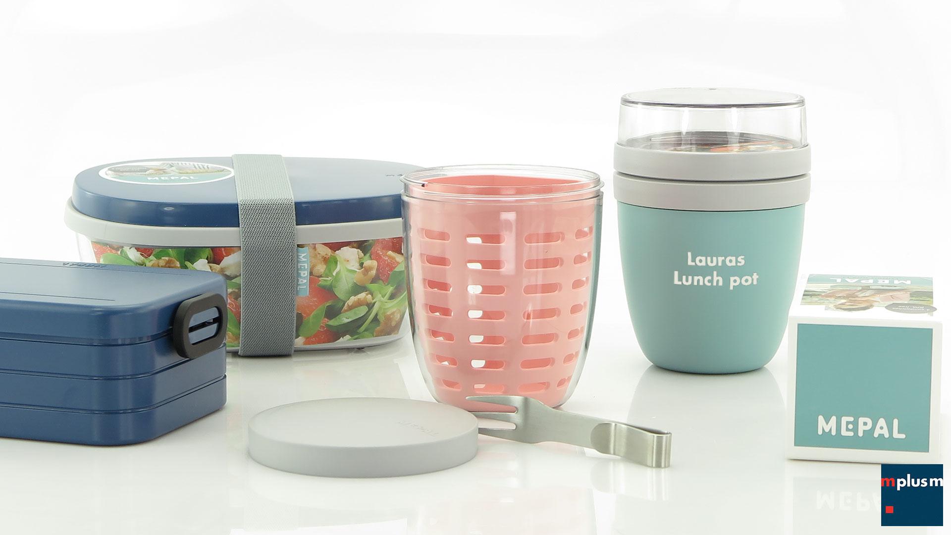 Mepal Lunch Boxen und Pots als Werbeartikel bedrucken